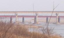 金池面の未成線上から見た全羅線の新旧の橋・7.10更新