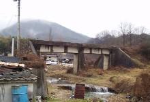 金城面徳成里の未成線の橋・5.19更新