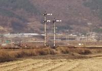 旧書道駅北方の信号機